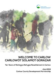 Rohinga Refugee report cover